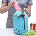 Bolsa de viaje para bebé Bebe mamá bolsa organizadora de alimentos bolsas de pañales aislados para mamá enfriador bolsas de transporte Bento enfriador caja de almuerzo bolso