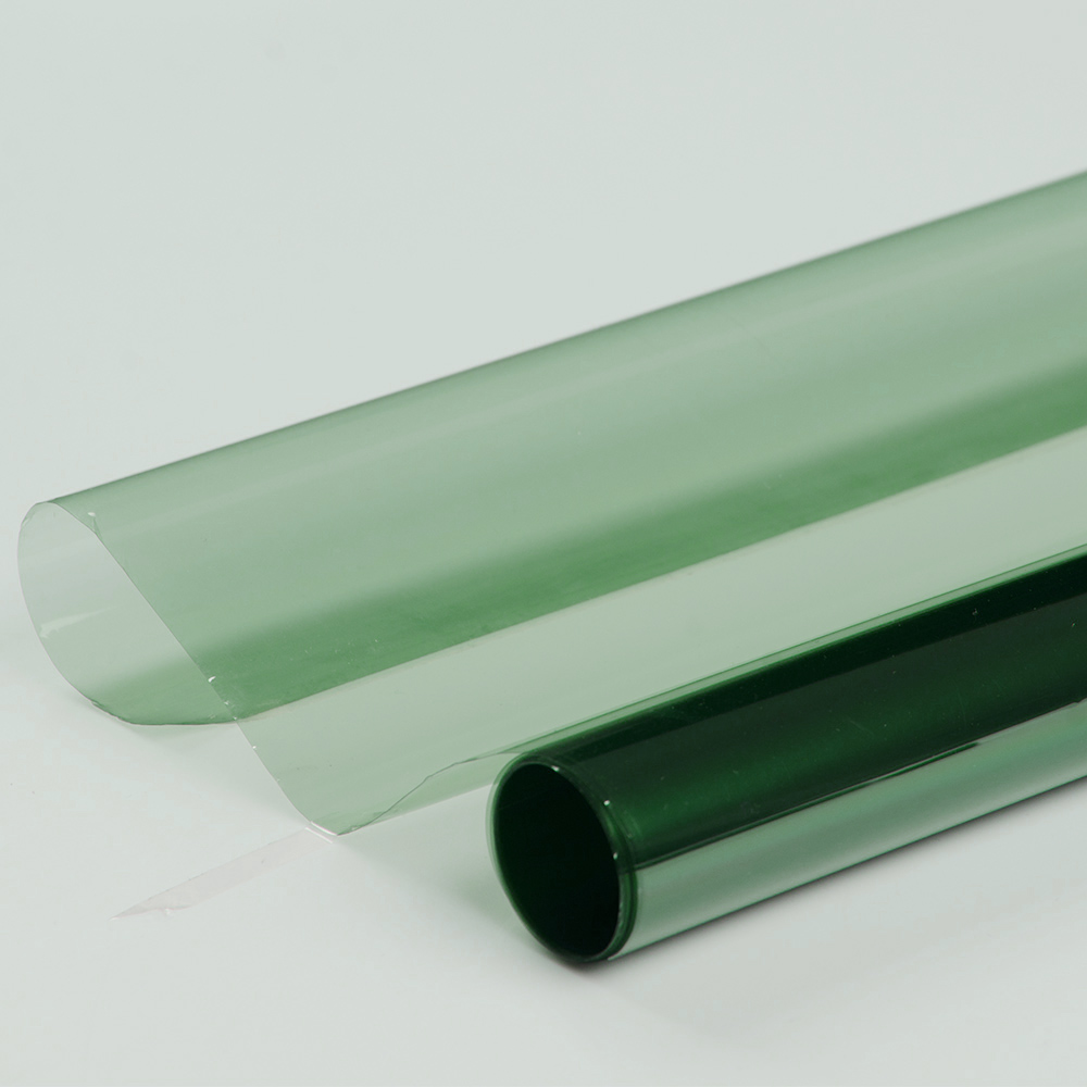 100% UV rejet 70% VLT UV400 fenêtre teinte vert Film de Protection solaire 1.52x30 m