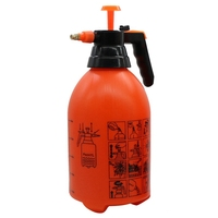 3L orange hand pressure sprayer large capacity large watering flower|Water Cans|Home & Garden -