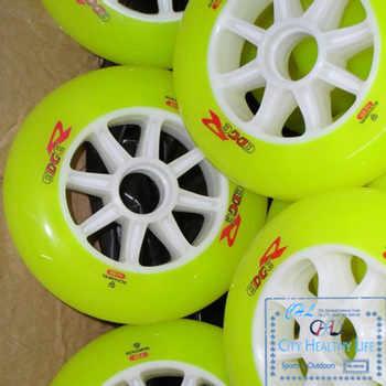 8 Pieces/lot Schankel Edge Inline Speed Skates Wheels High Elastic 110mm 88A Hardness Speeding Skate Shoes Patines EdgeR Wheels