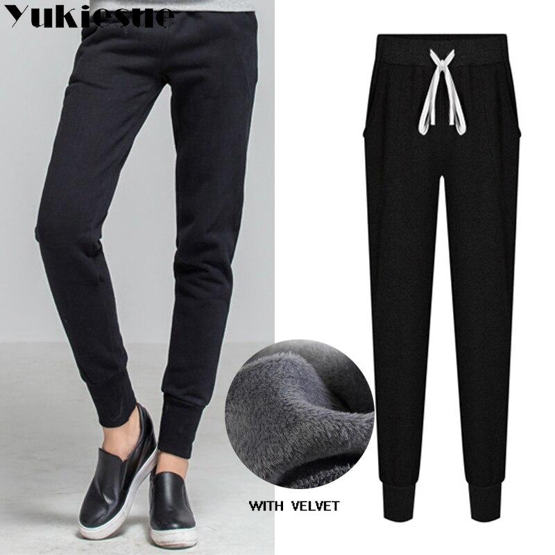 65c609a14 2018 winter warm fleece Trackpants Sweatpants Women's Pants Hot Sweat Pants  Womens Loose Trousers Joggers Pants Plus Size | Everyday Essentials