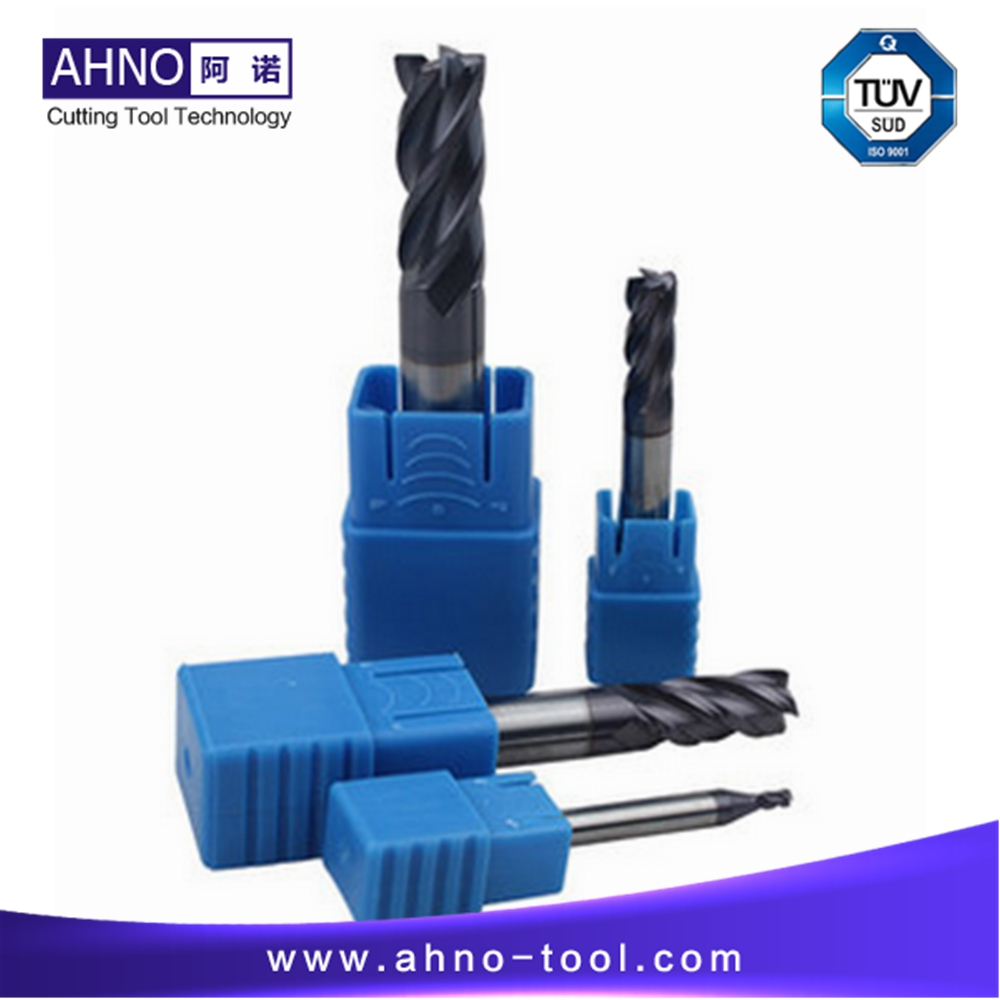 BeRay of AHNO Tungsten Carbide CNC Milling Nose Radius Cutters, Milling Tools, Carbide End mill,HRC50 5pcs lot ahno hrc55 2 flutes flat 100% tungsten solide carbide end mills cnc cutters sharpener for cnc milling machines
