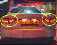 1set car styling rear light for Audi A5 taillight DRL+Brake+Park+Signal 2008 2009 2010 2011 2012 2013 2014 2015 2016 2017 2018y