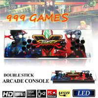 Классические аркадные игровой консоли 999 в 1 Ретро игровое поле 5S Поддержка HDMI, VGA, USB выход игры машина борьба игры