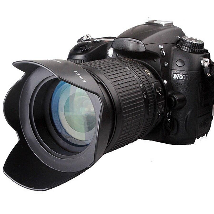 Hood 18-55mm-Lens 750D 700D 1200D 600D 760D Canon Flower-Lens 58mm for EOS 1300d/1200d/800d/..