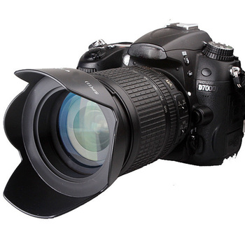 58mm śruba-w kwiat osłona obiektywu do aparatu Canon EOS 1300D 1200D 800D 760D 750D 700D 650D 600D 100D 80D 70D 77D 60D i 18-55mm obiektyw tanie i dobre opinie Viltrox