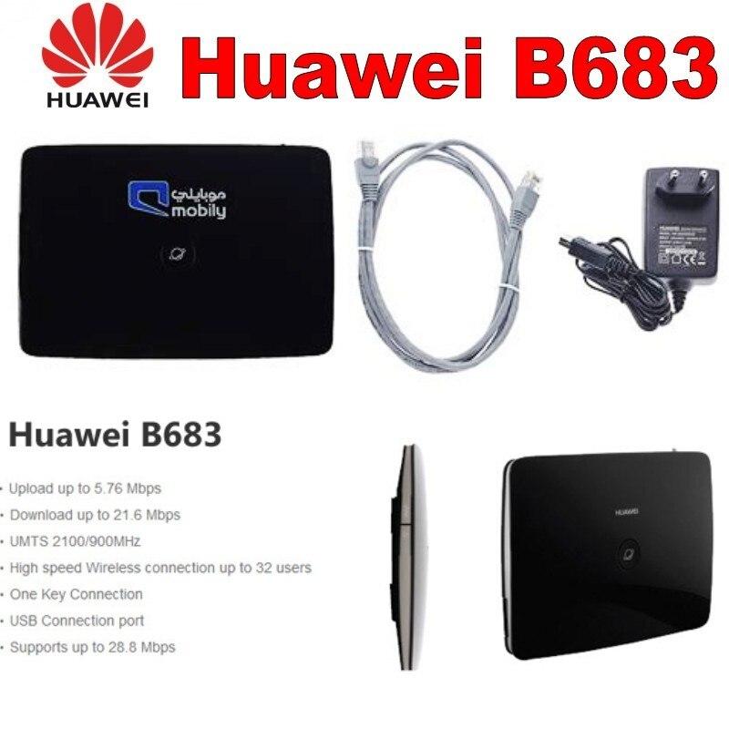 Huawei B683 Router Met Sim Slot 4lan Poort 28 M 3.5g Router Lekkernijen Geliefd Bij Iedereen