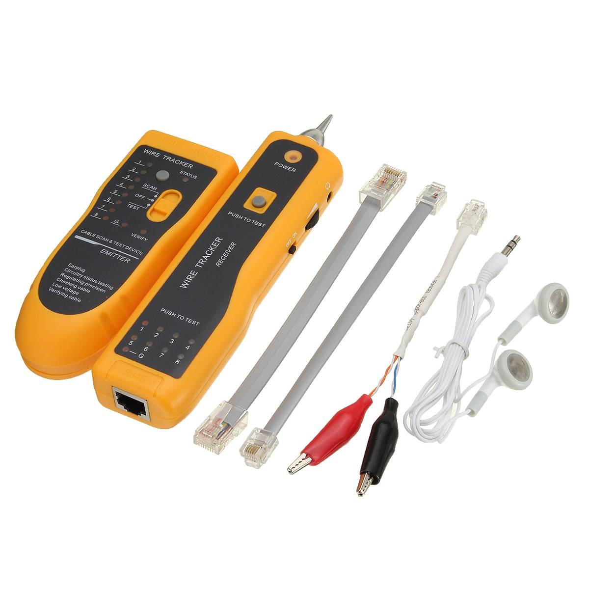 Multi Cable Tester : Online buy wholesale lan tester from china
