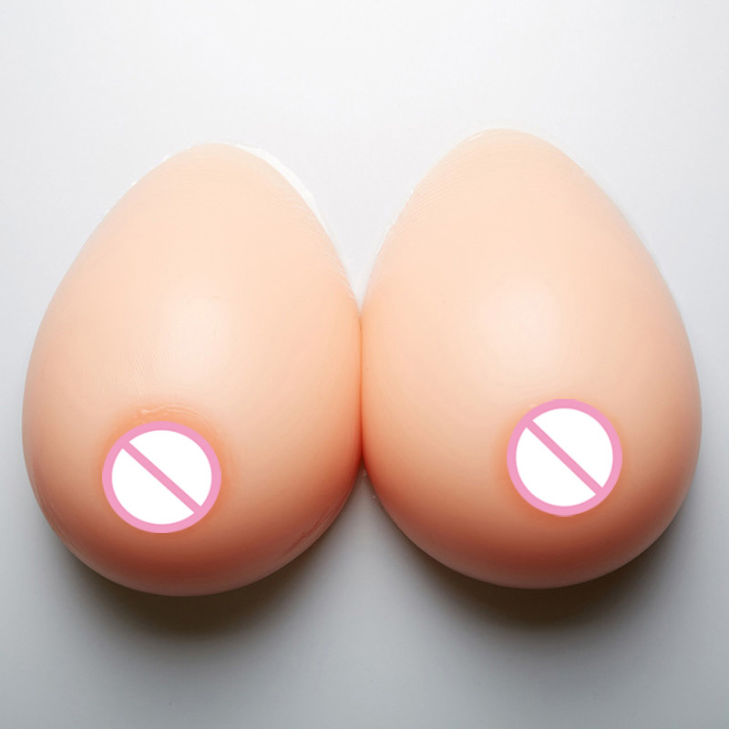 1200g/pair Silicone Breast Form 38D/40C Artificial false Breasts for realistic transvestite Huge Fake Bosom сумка для видеокамеры lowepro ii dslr canon nikon sony lp2rr