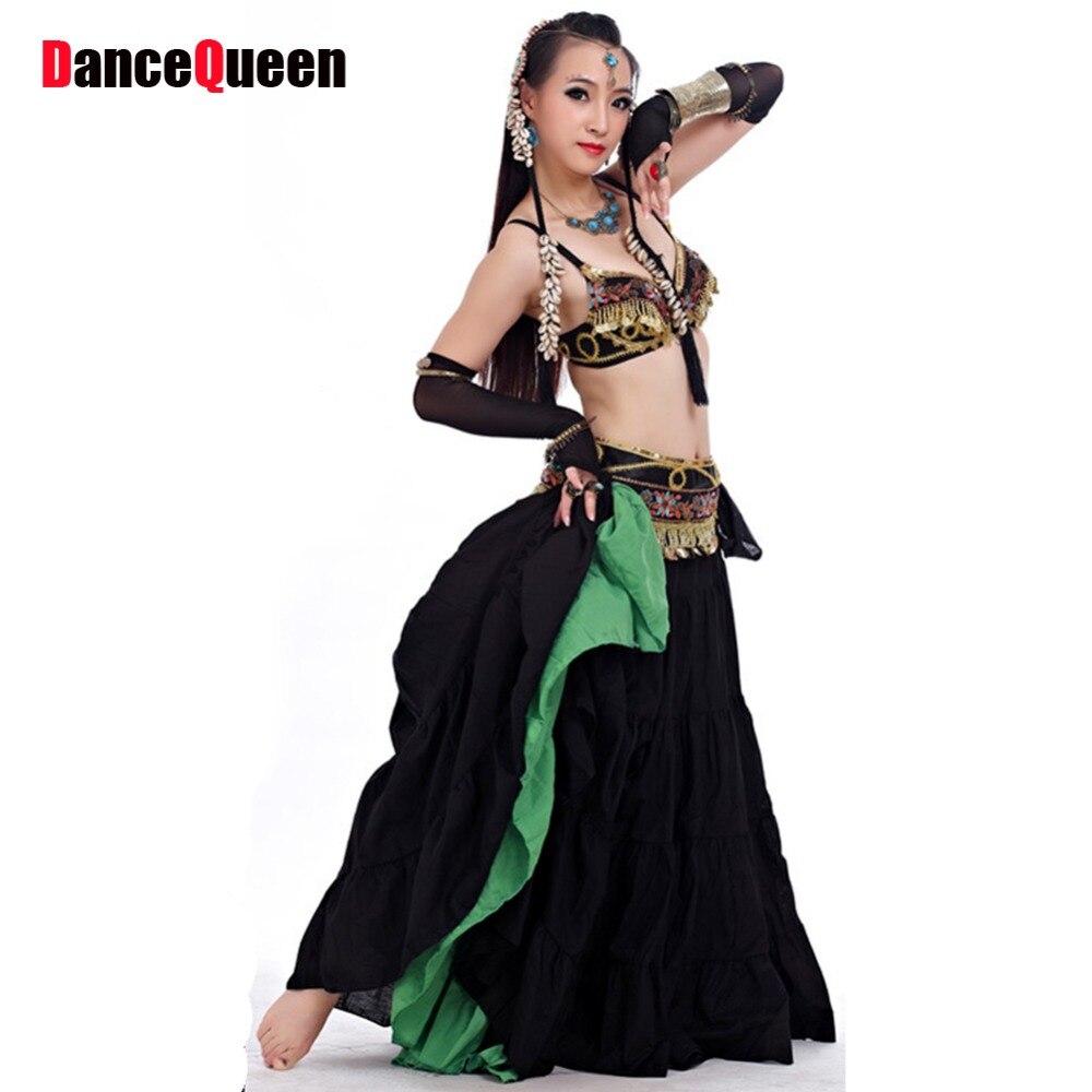 Belly Dance Tribal 2 Piece(Bra+Waist Sealing) Costume ...
