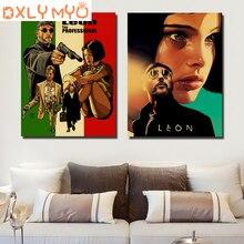 5d Diy Full Diamond Embroidery Classic Movie Leon/Pulp Fiction/Shining/Kill Bill Vintage Poster Painting Cross Stitch