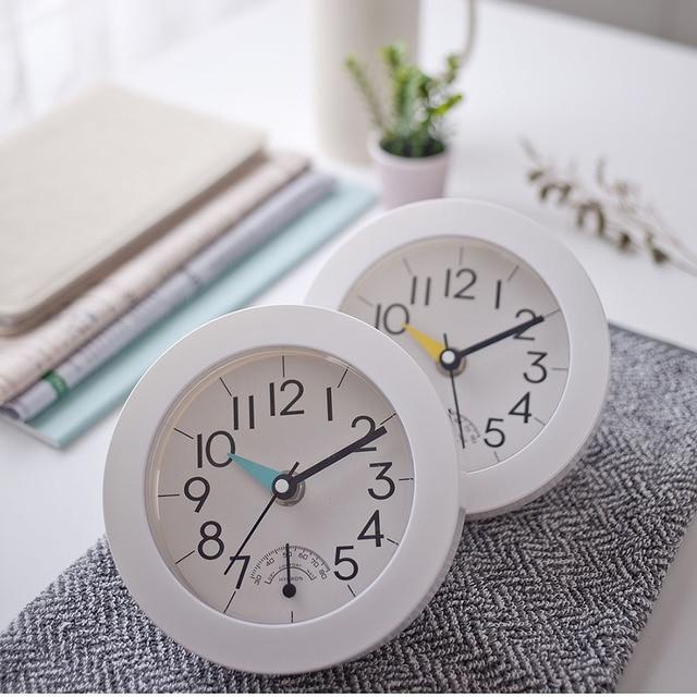 Best Price European Wall Clock Modern Design Sucker Waterproof