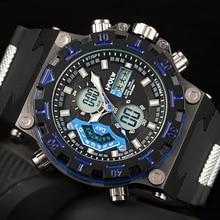Relogio masculino Цифровые Часы Люксовый Бренд Военные Спортивные Кварцевые часы мужчины Спортивные часы Relojes deportivos para hombres