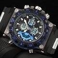 Relogio masculino Reloj Digital Militar Marca de Lujo de Cuarzo relojes Deportivos hombres relojes de Silicona relojes deportivos para hombres