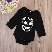 Daddy Mommy's Little Nightmare Baby Romper