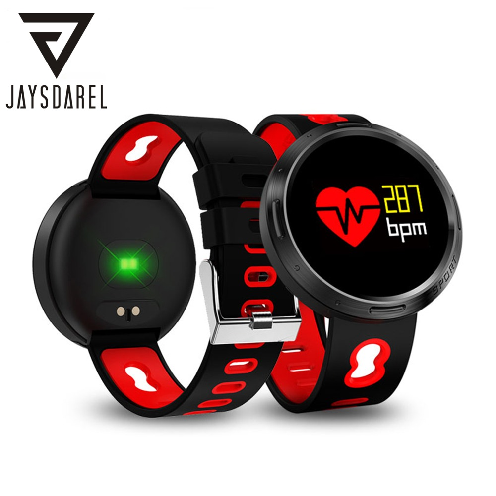 JAYSDAREL X9-VO Blood Pressure Oxygen Heart Rate Monitor Smart Watch OLED IP68 Waterproof Smart Bracelet for Android iOS jaysdarel heart rate blood pressure monitor smart watch no 1 gs8 sim card sms call bluetooth smart wristwatch for android ios
