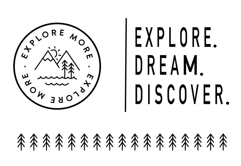 Explore dream stamp Clear Stamp for Scrapbooking