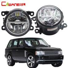 Cawanerl для Land Rover Range Rover III внедорожник(лм) 2009-2012 Автомобильный светодиодный противотуманный светильник 6000K Белый DRL Дневной светильник 12V 2 шт
