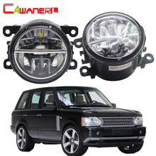 Cawanerl For Land Rover Range Rover III SUV LM 2009 2012 Car LED Fog Light 6000K