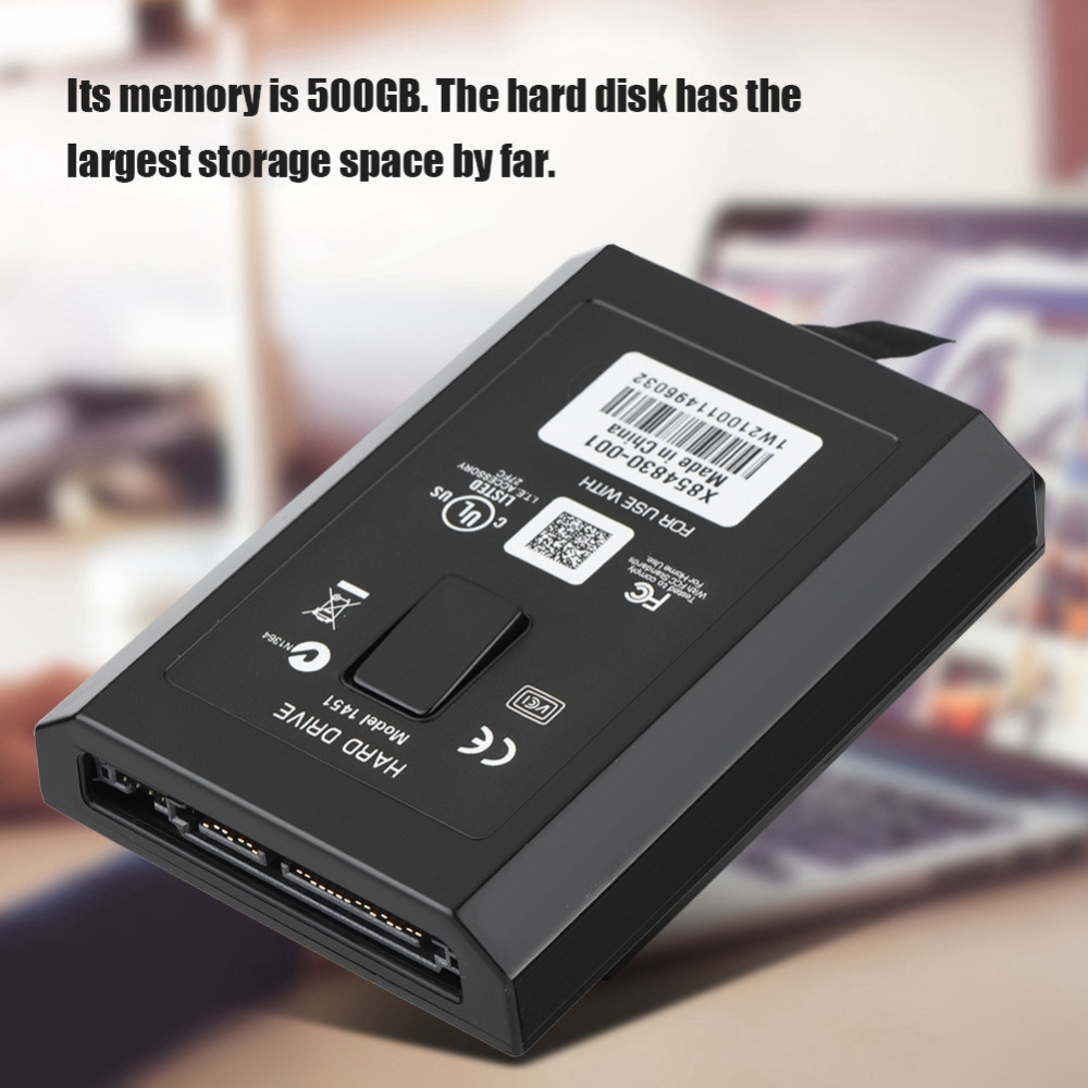 HDD Hard Drive Kit Game Host Hard Disk Thin Drive 500 GB Largest Storage Space