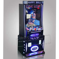 NYST Amusement Equipment Happy Ball Jackpot Gambling Slot Machine Coin Operated Prize Tickets Redemption Arcade Game Machine