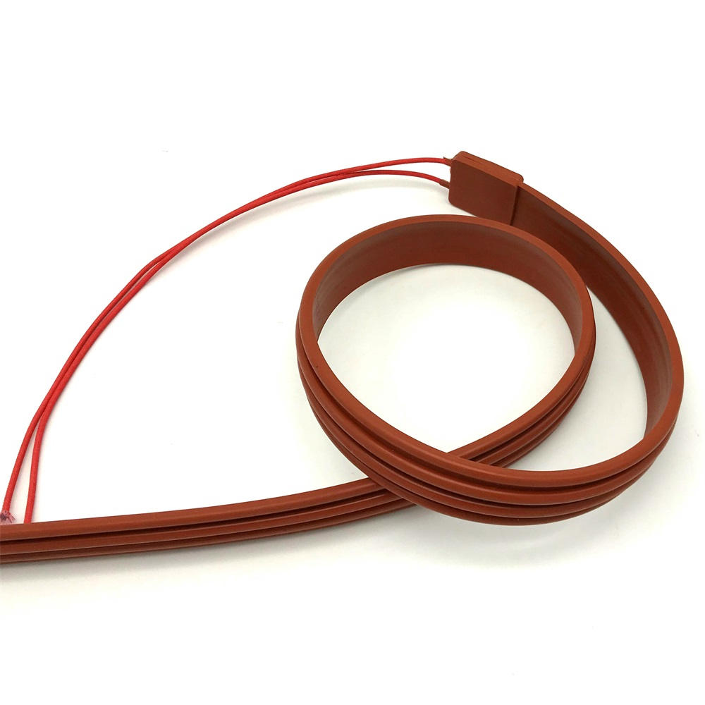 Silicon Rubber Heating Cable Simple Installation Heating Wire Heat Heating Cable