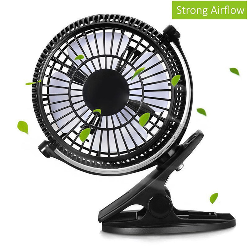 Portable 2 Gear Rocker Switch Mini Desk Fan Clip-on Quiet Table Fan USB Powered Cooling Flexible Computer Fan for PC Laptop laptop cooling fan for asus pu500ca fan
