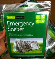 New Outdoor First Aid Survival Emergency Shelter Tents Aluminized Film Camping Hiking Rescue Safety Blanket Tent
