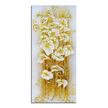 Golden lily  65x140cm Diy diamond painting diamond embroidery Cross-stitch square drill full rhinestone diamond home decoration