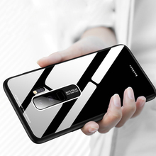Tempered Glass Case For Samsung Galaxy S8 S9 S10 Plus S10e A50 A30 A70 Note 8 9 M30 M20 Colorful Mirror Phone Cover