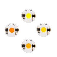 5pcs/lot LED Smart IC Light Chip 220V 12W 9W 7W 5W 3W COB Chip Day Cold Warm White Grow Light For LED Floodlight Spotlight DIY(China)