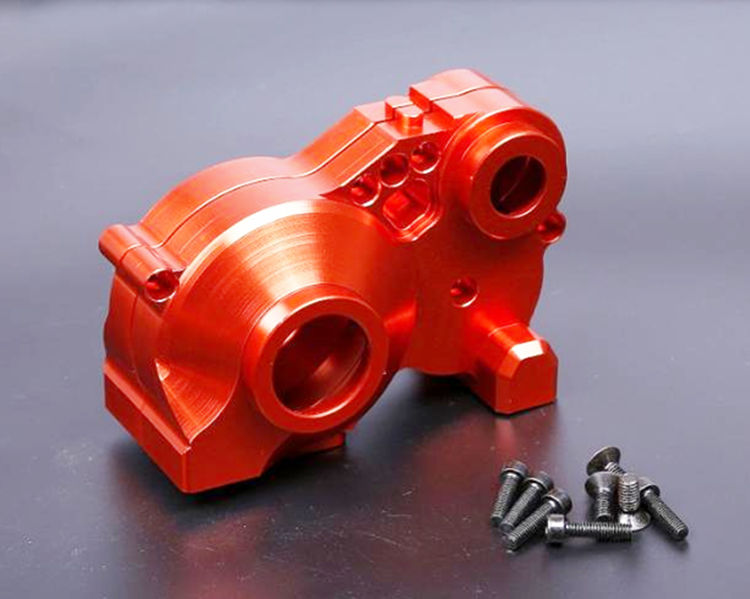 цена на Baja CNC Alloy Gearbox Gear Box Set for 1/5 HPI KM Rovan BAJA 5B 5T 5SC RC Car Parts