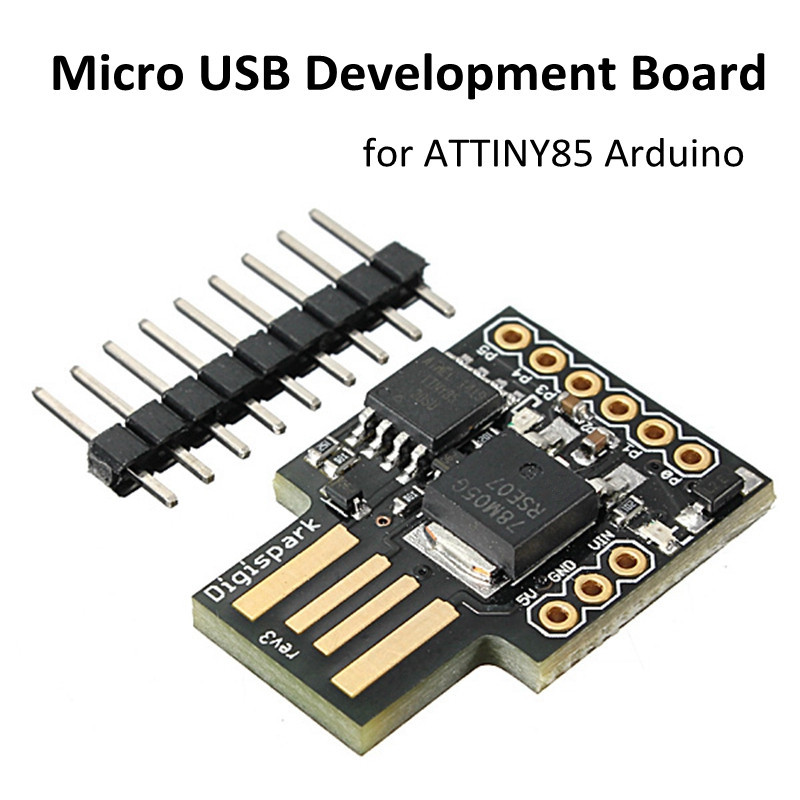 2017 New Arrival Digispark Kickstarter Micro General USB Development Module Board For Arduino ATTINY85
