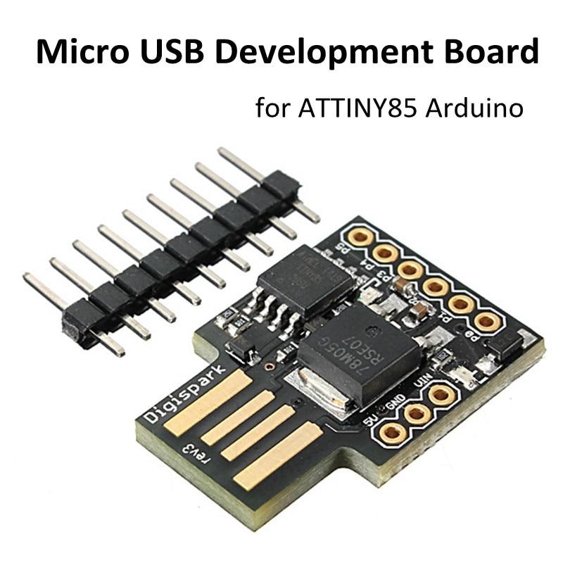 2017 New Arrival Digispark Kickstarter Micro General USB Development Module Board for Arduino ATTINY85