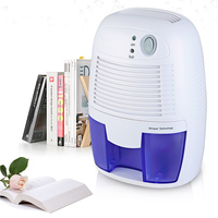 500ML Mini air Dehumidifier Household Dehumidifier Silent Basement Dehumidifier Wardrobe Dryer Absorber capacity 1pc