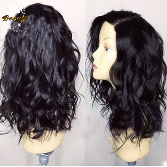 7A Brazilian Wet and Wavy Silk Top Full Lace Wig Virgin Human Hair Silk Base Wig Glueless Silk Top Lace Front Wig Bleached knots