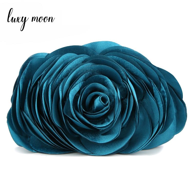 Hot Sale Evening Bag Flower Bride Bag Purse Full Dress Party Handbag Wedding Clutch Women Evening Purse Lady Clutches EB034