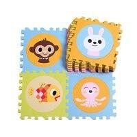 20 шт. 30x30 см блокировка головоломки детские игровые коврики Ползания игровой коврик подушка половик коврик для малышей