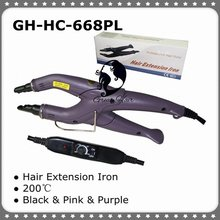 Keratin Fusion Hair Connector with Adjustable Temperature for Usage of all type of hair extension system
