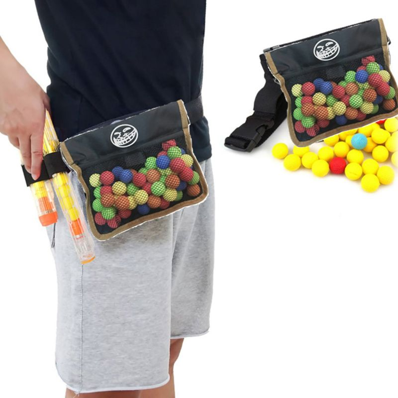 Mesh Waist Bag For Rival Zeus Apollo Nerf Toy Gun Ball Dart Boy Kids Toy Gift