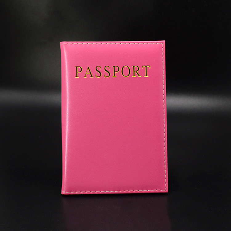 Hot Cute Passport Cover Women Pink Passport Holder USA Travel Covers For Passports Girls Cover Passport Case