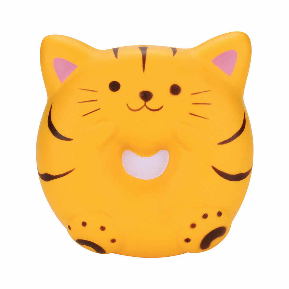 Juguete Squishy pan gato perfumado Squishy Slow Rising exprimidor juguetes Jumbo colección Dec14