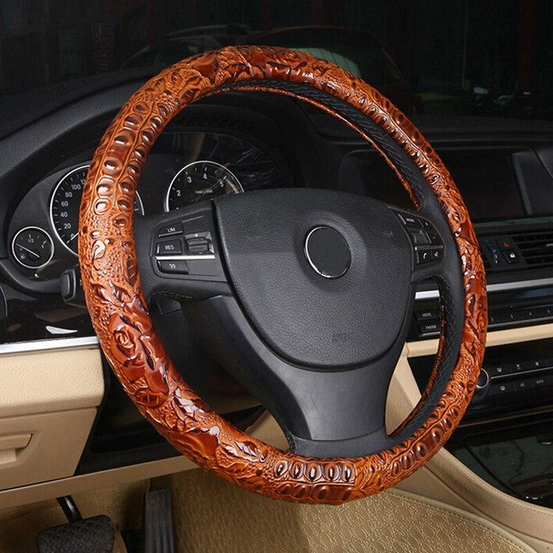 Гонки 3D рулевого колеса автомобиля крышки из микрофибры Прохладный Чехлы для мангала чехол Крышка 38 см для HONDA/Audi/ford /hyundai/Volkswagen/Kia белый ...