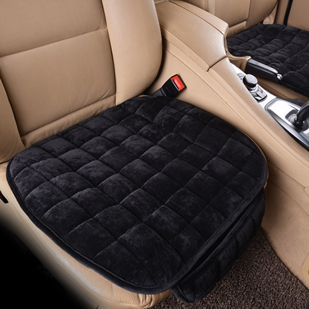 Universal Car Seat Cover Winter Plush Anti Slip Cushion
