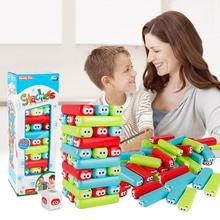 Multicolor Stacking Building Blocks Excellent Kids Intelligence Toys Desktop Balance Game Interactive Kids  Early Education Toys ball balance game handheld maze children s intelligence and fun wooden toys early head start training balance game kids toys
