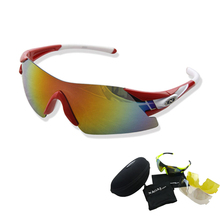Polarized Cycling Sun Glasses Outdoor Sports Bicycle NEW Men Women Sunglasses Goggles Eyewear 3Lens