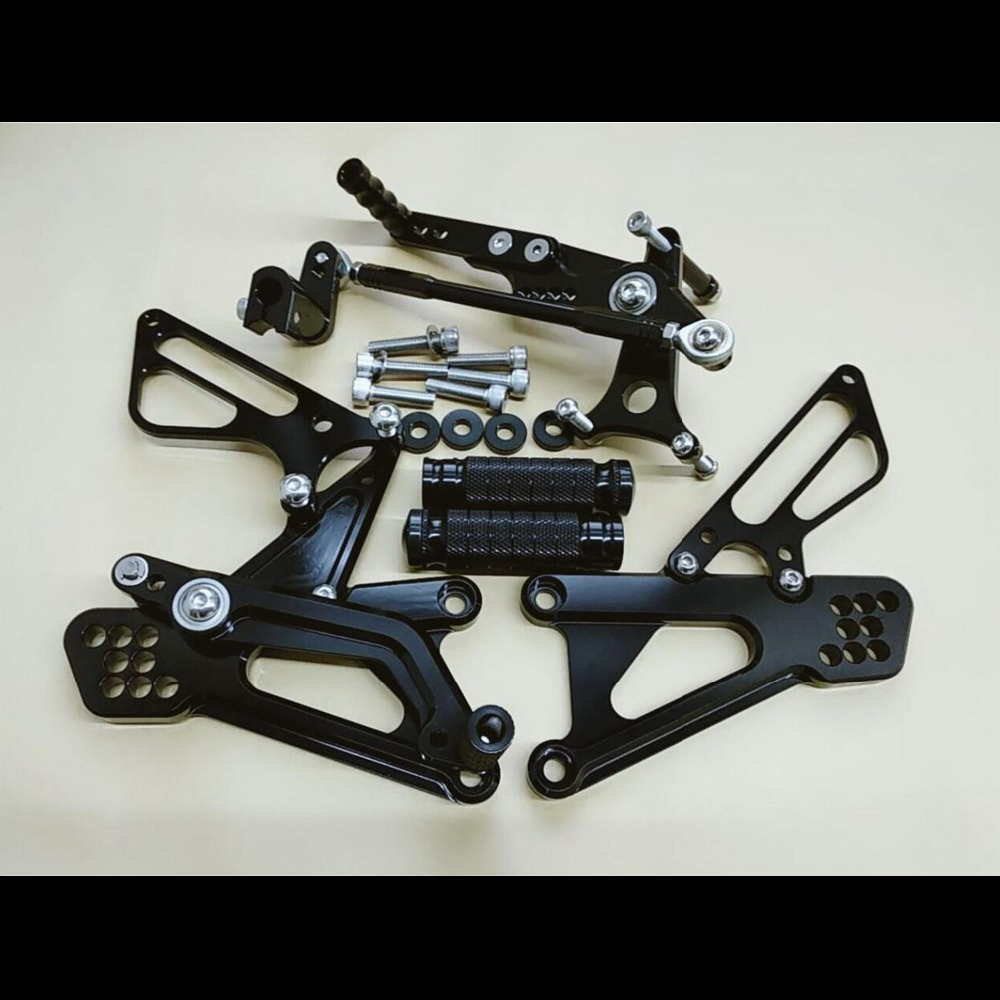 8 Color For TRIUMPH DAYTONA 675 2011-2013 CNC Adjustable Rearsets Rear Set Motorcycle Footrest Moto Pedal 2012 Foot Pegs