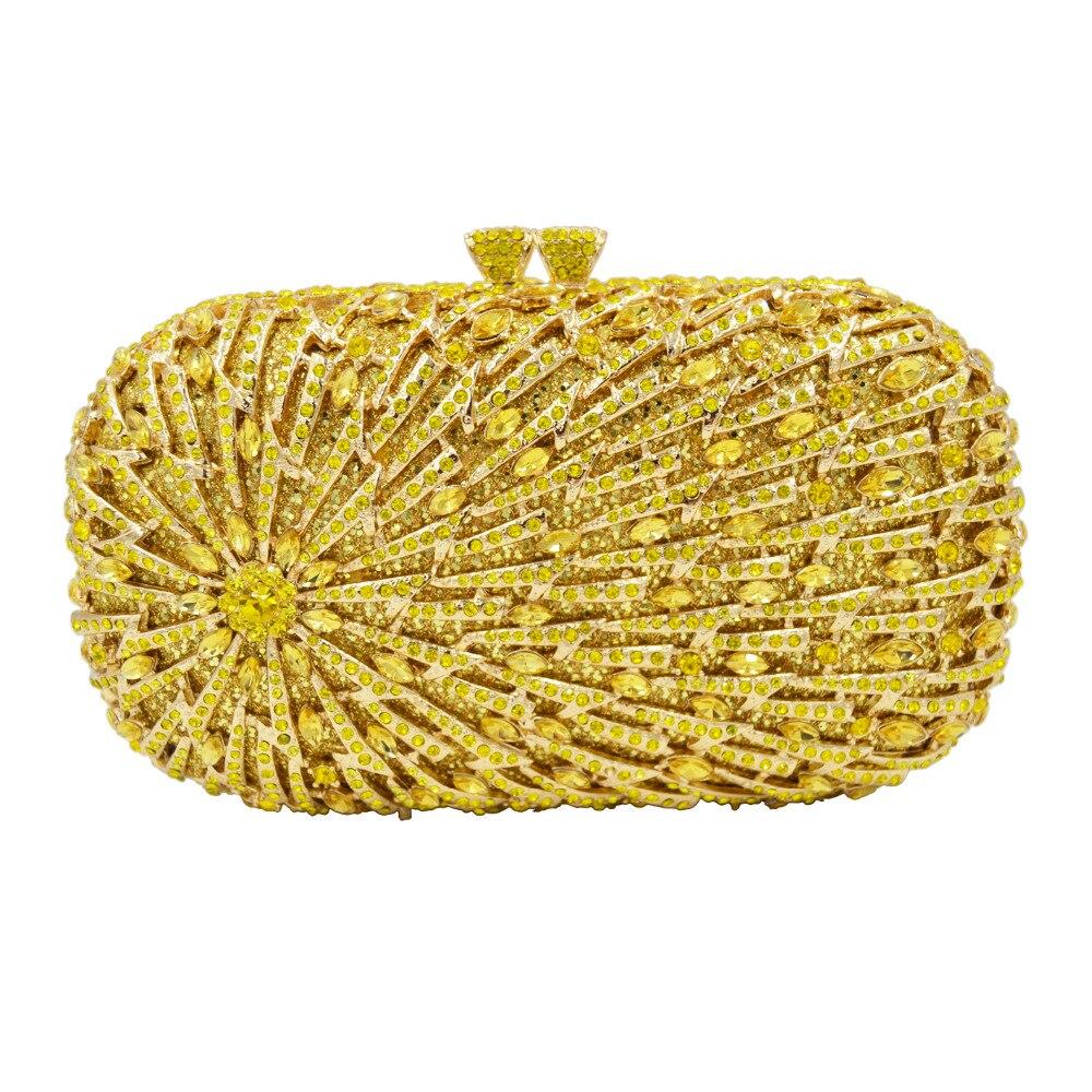Citron yellow Soirée Femmes grey Cristal red gold Or Orange Sc633 Chaîne Sacs Main Jaune champagne Embrayage À Rose Sac De Gris Gold Silver Femelle Deluxe q1USdCq