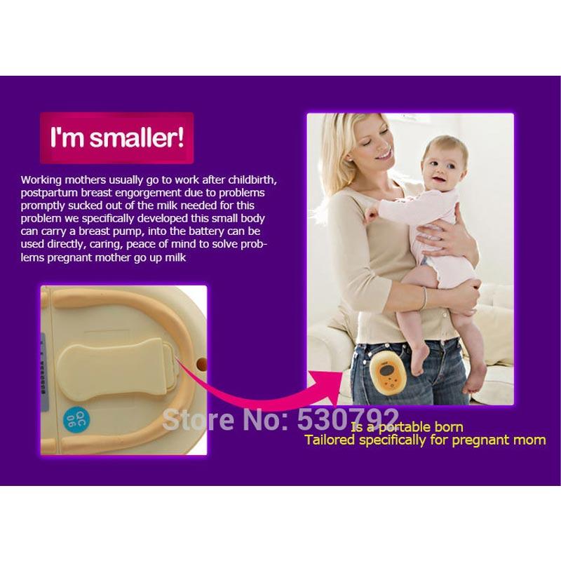 Ncvi Nuovo di Grandi Dimensioni di Aspirazione Singolo Elettrico Del Seno Pompa di Alimentazione Del Bambino BPA Libero Del Latte Materno Pompa di Alimentazione USB Da Imballaggio del Regalo XB 8617 - 3