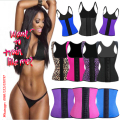GIRL MELODY cinta modeladora corset firma cintura cintas de emagrecimento espartilhos e bustiers Latex Waist Trainer And Cincher Corset Body Shaper Slimming Belt